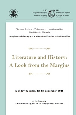 Literature and History: A Look from the Margins