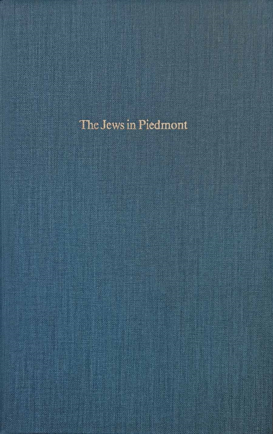 The Jews in Piedmont