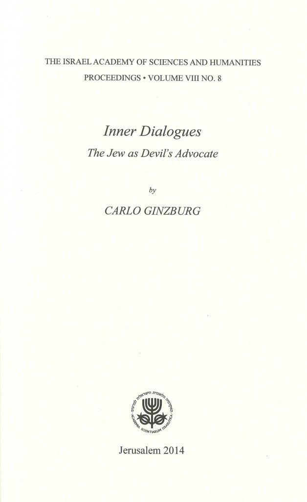 Inner Dialogues: The Jew as Devil's Advocate