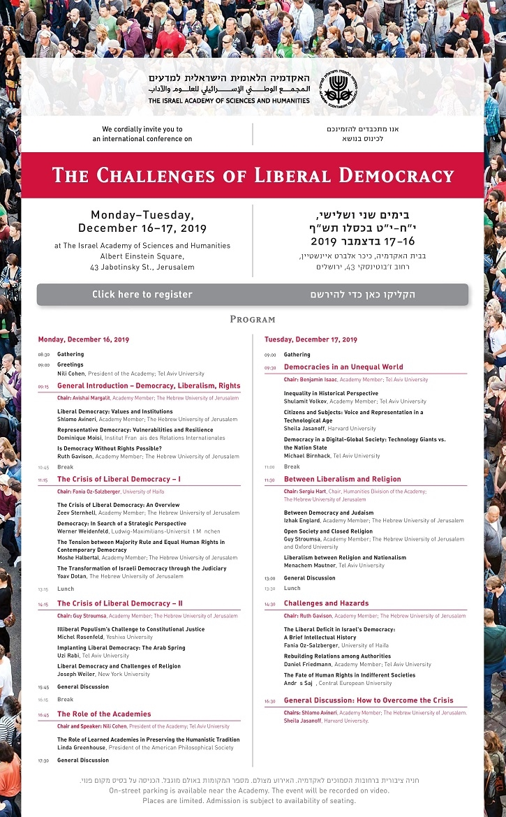 International Conference - the Challenges of Liberal Democracy